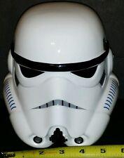 STAR WARS STORMTROOPER Helmet Mask Cowl Black Decorative Coin Bank Ceramic New