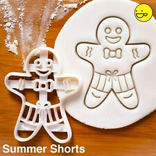 Gingerbread Man Cookie Cutter Biscuit Pâte Pâtisserie Fondant Noël XM19//21