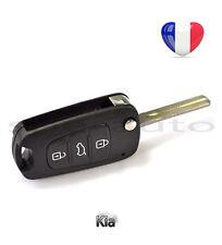plip coque clé Kia Picanto Rio Cee'd Venga Carens Soul 3 boutons