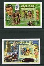 Chadian Sheet Sports Postal Stamps