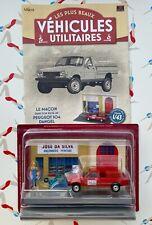 Altaya - the macon in his truck peugeot 504 dangel + booklet-new