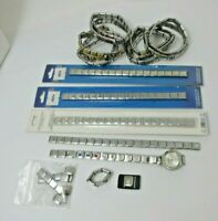 Stainless Steel Italian CHARM Bracelet CHARMS LOT DlinQ BLinQ New and Preowned