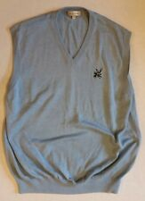 Peter Millar XL Baby Blue Golf Sleeveless V-Neck Sweater Vest