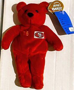 JOE MONTANA San Francisco 49ers #16 Super Bowl Series Salvino's Bammers Red Bear