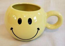 Ceramic Yellow Happy Smiley Face Coffee Cup/Mug