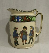 Royal Doulton Three Musketeers Pitcher Jug D3051
