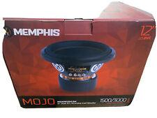"""MEMPHIS MOJO612D4 MOJO 12"""" SUB 3000W DUAL 4-OHM CAR AUDIO SUBWOOFER BASS NEW"""