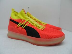 Puma Men's Clyde Court 'DISRUPT' Basketball Shoes Red Blast Size 13M