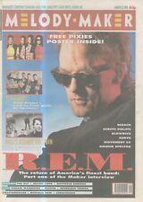 "(ANEW11) MELODY MAKER NEWSPAPER COVER PAGE 15X1"" 2/3/1991 R.E.M. MICHAEL STIPE"