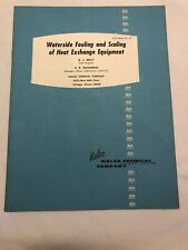 1963 Nalco Waterside Fouling and Scaling of Heat Exchange Equipment ( No. 127)H5