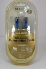 Belkin 24K GOLD PLATED CONNECT 14 ft CAT 6 Snagless Networking Cable Gold Series
