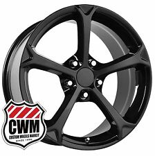 "(1) 17 inch 17x8.5"" OE Performance 130B Corvette Grand Sport Black Wheel Rim"
