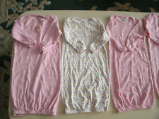Girls 8 piece bag gown sleeper lot size 0-6 to 0-9 months
