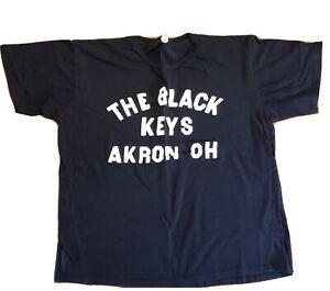 the Black Keys t shirt XL shrunk? 100%cotton Akron Ohio 2010 Indie Rock