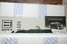FRANKLIN MINT 1/24 SCALE 1936 FORD DELUXE CABRIOLET CONVERTIBLE IN BOX WITH COA