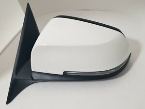 #75 PAINTED WHITE LEFT DRIVER SIDE MIRROR FOR BMW 320I 328I 335 3 SERIES 4 DOORS