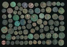 88 ROMAN IMPERIAL COPPERS (UNCLEANED & PARTIALLY CLEANED) SEE PICS > NO RESERVE