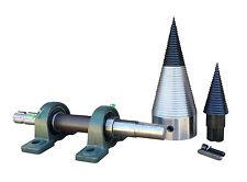Screw Type Log Splitter Assembly tractor Shaft PTO 120 mm + Tip Kit Para Divisor