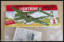 1958 AirFix 1/72 Lockheed P38 Lightning Vintage Bagged kit Unopened Type 1