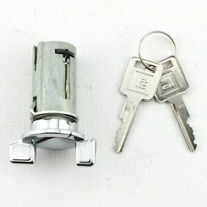 69-up Chevrolet Buick Cadillac Olds Pontiac Ignition Key Lock Cylinder & GM KEYS
