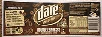 AUSTRALIAN MILK BOTTLE LABEL, DARE ICED COFFEE DOUBLE ESPRESSO 500ml