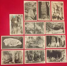 Carlsbad Caverns Postcards - Lot Of 12 Real Photo Postcards from 1947