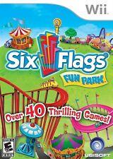 Six Flags Fun Park - Nintendo  Wii Game