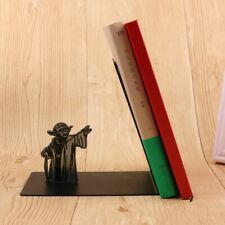 Master Yoda Bookend Star Wars Metal Bookrack BookShelf BOOKENDS Book Holders