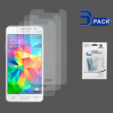 3 x Ultra Thin Clear Screen Protector Film for Samsung Galaxy Grand Prime / G530