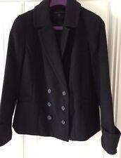 Ladies Dorothy Perkins Black Coat size 16