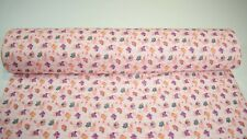 """Quilt Fabric Pink Airplane Baby Print Craft Apparel Sewing 45"""" Wide #125"""