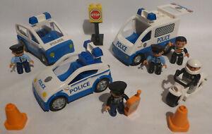 LEGO DUPLO POLIZEI AUTO AUTOS FIGUREN MOTORRAD POLIZEIAUTO POLIZEIAUTOS