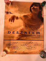 Vtg Delerium Conjure One And Dj Set Sidestepper Netwerk Poster