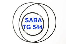 SET CINGHIE SABA TG 544 REGISTRATORE A BOBINE BOBINA EXTRA FORTI FRESCHE TG544