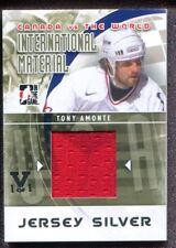 2015-16 Final Vault - 2011-12 Canada vs The World Materials Silver - Tony Amonte