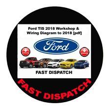 Ford TIS 2018 Workshop & Wiring Diagram to 2018 3.78gb [P-D-F] diagnostics