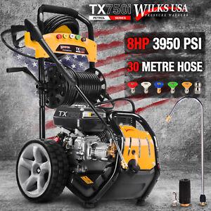 Wilks-USA Pressure Washer - 3950PSI / 272BAR - Petrol Jet Power Car Wash Cleaner
