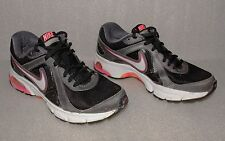 Women's Nike Air Dictate 2 Running Shoes Size 7.5 Black Pink Grey White