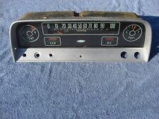 1964 1965 1966 Chevy truck speedometer instrument cluster silver