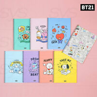 BTS BT21 Official Authentic Goods Spring Line Note Doodling Ver 8SET By Kumhong