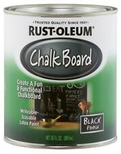 Rust-Oleum Available 206540 Chalkboard Brush-On, Black, 30 oz, Black