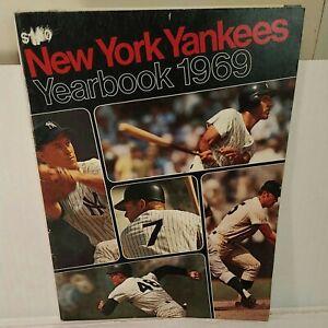 1969 New York Yankees Baseball Yearbook