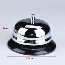 1pc Restaurant Hotel Kitchen Service Steel Bell Ring Reception Desk Call Ringer