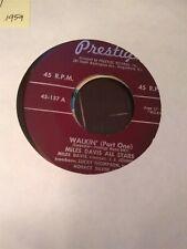 Miles Davis All Stars, Walkin' ~ 1959 Prestige 45