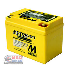 De Alto Voltaje Motobatt AGM Batería Motocicleta YTZ5S para Honda Msx 125 2013