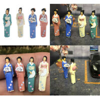 Scenario In Miniatura Di Personaggi Giapponesi In Scala 1/64 Modello Diorama Per