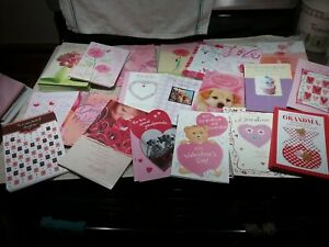 NEW LOT OF 190+ VALENTINE'S DAY AMERICAN GREETING CARDS AND 140+ ENVELOPES
