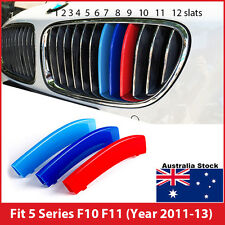 M-Tech Kidney Grille 3 Colour Cover Clip for BMW 5 Series F10 F11 Year 2011-2013