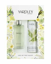 Yardley London Lirio del Valle EDT 50ml y Body Spray 75ml Conjunto de Regalo
