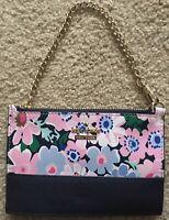 KATE SPADE Wallet Pink / Blue Cameron Street Caroline Daisy Garden Wristlet